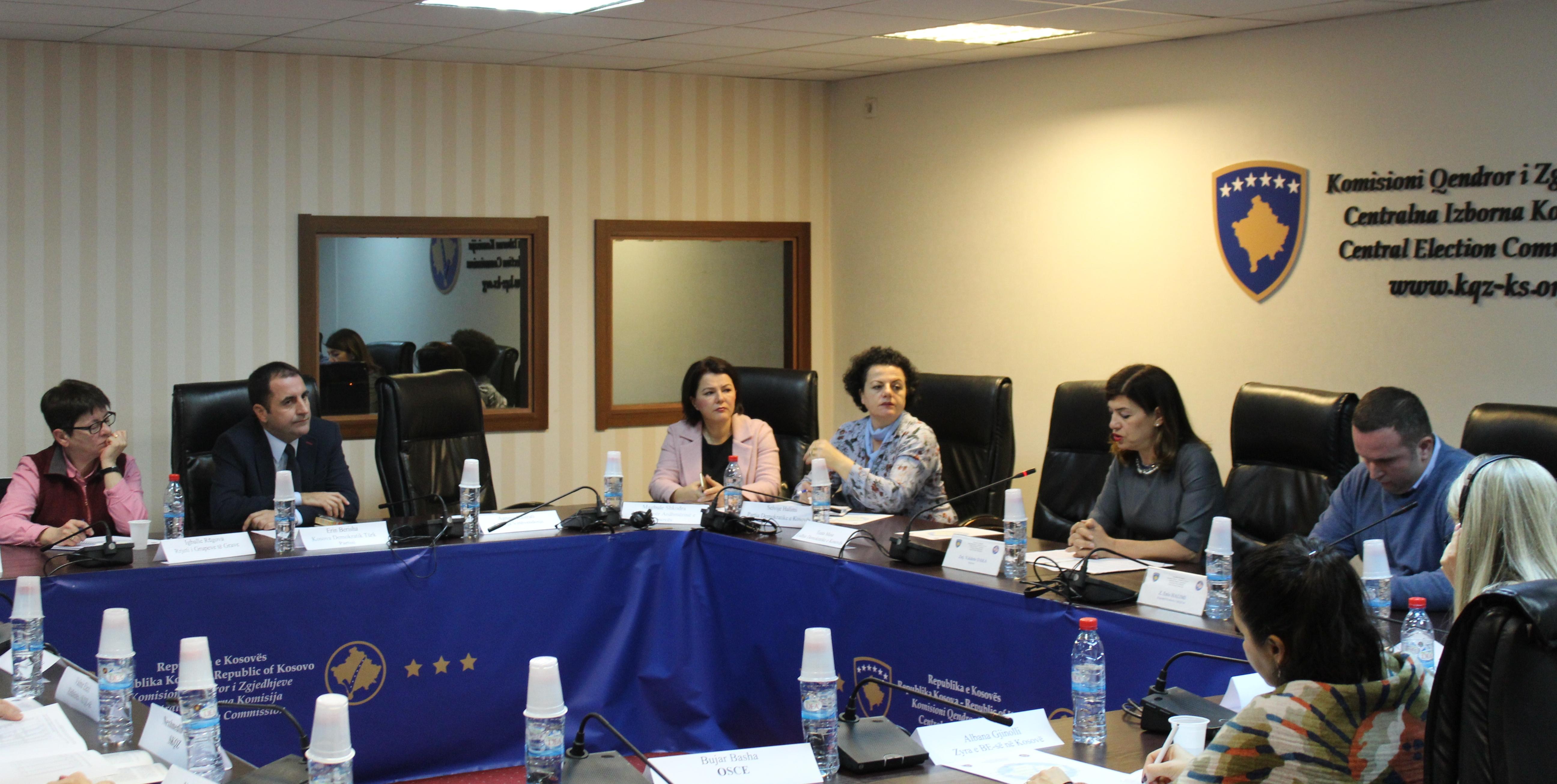 Mbahet takimi i parë i grupit konsultativ për barazi gjinore