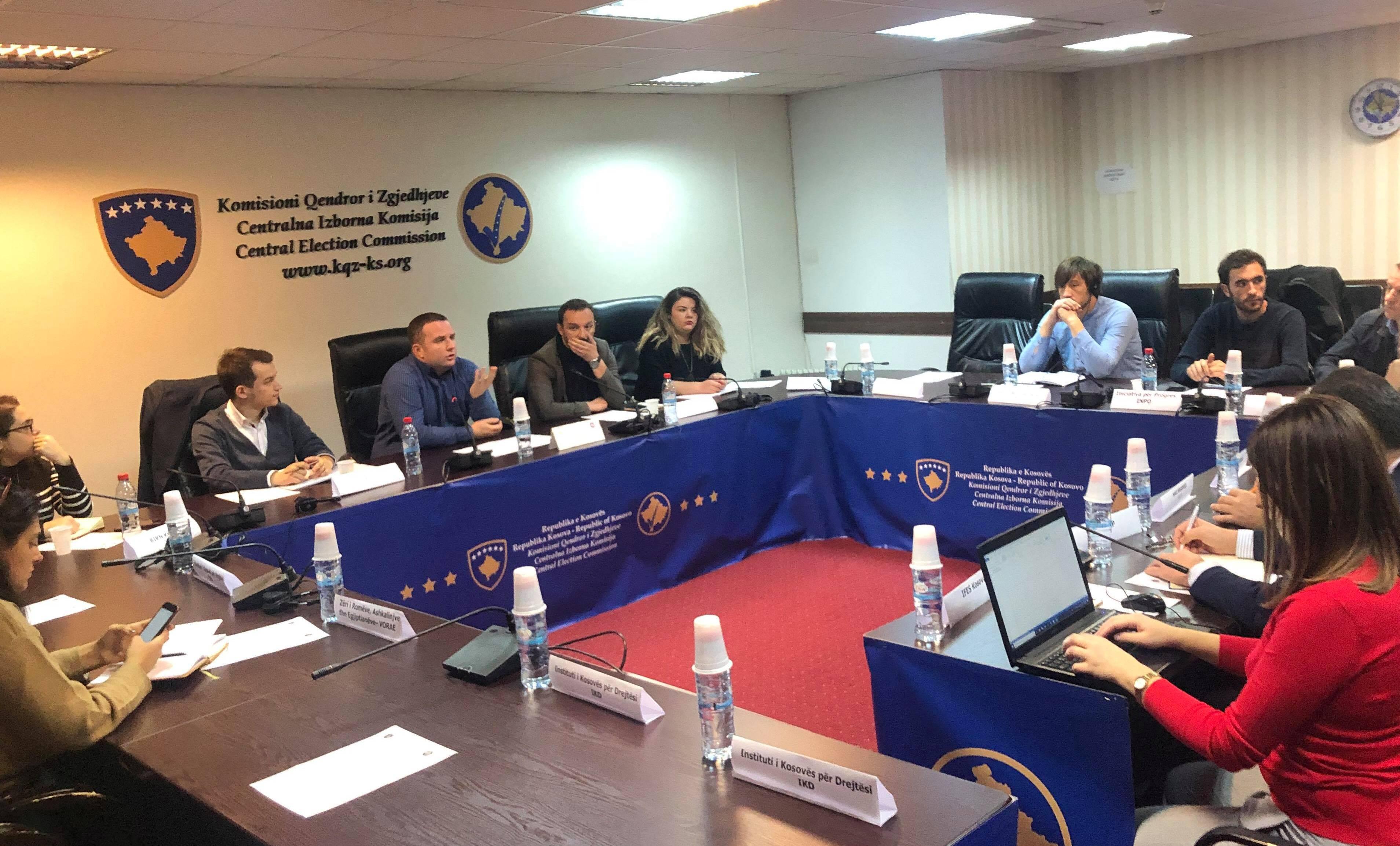 Mbahet takimi i grupit konsultativ: KQZ – Shoqëri Civile