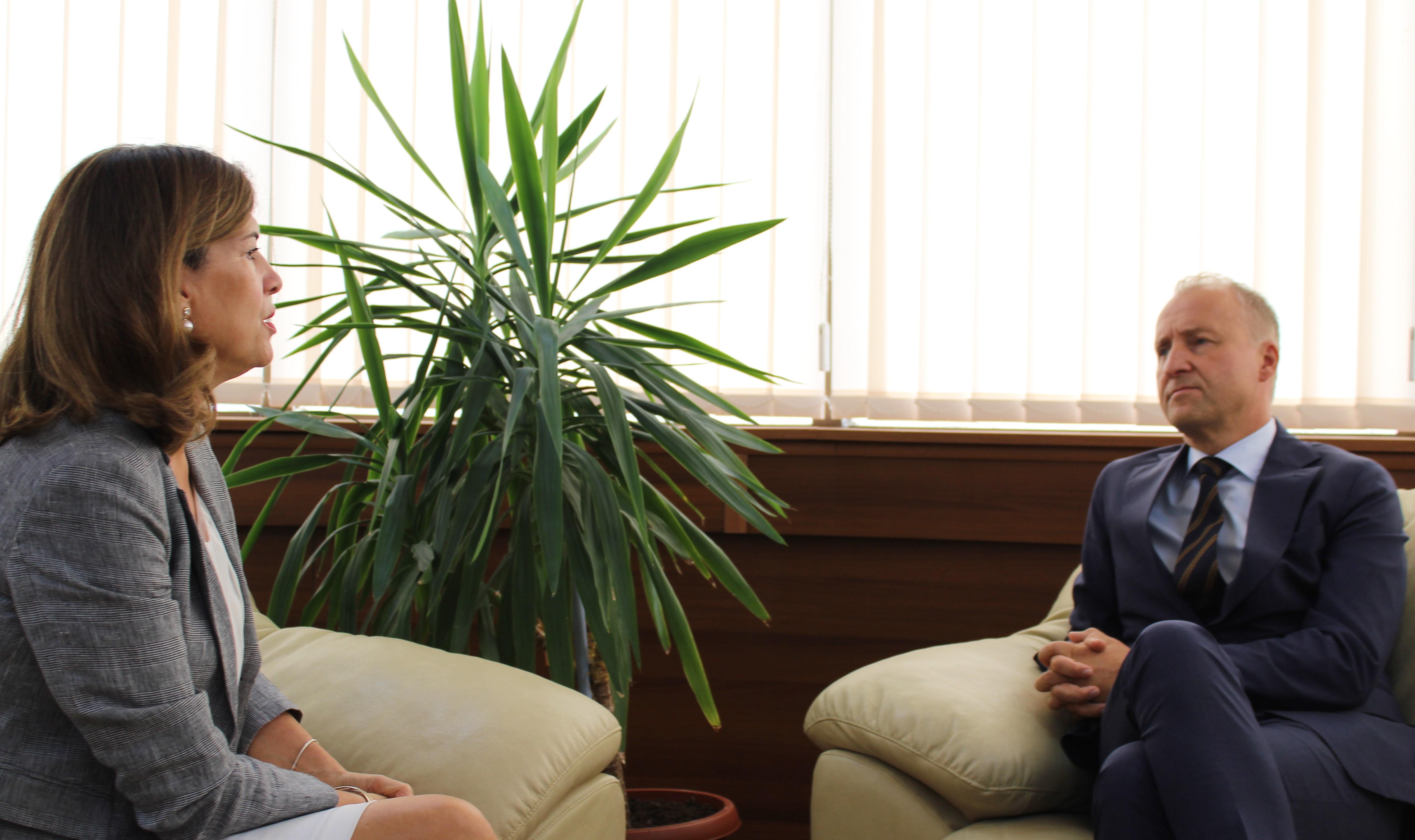 Ambasadori i Norvegjisë, vizitoi KQZ-në