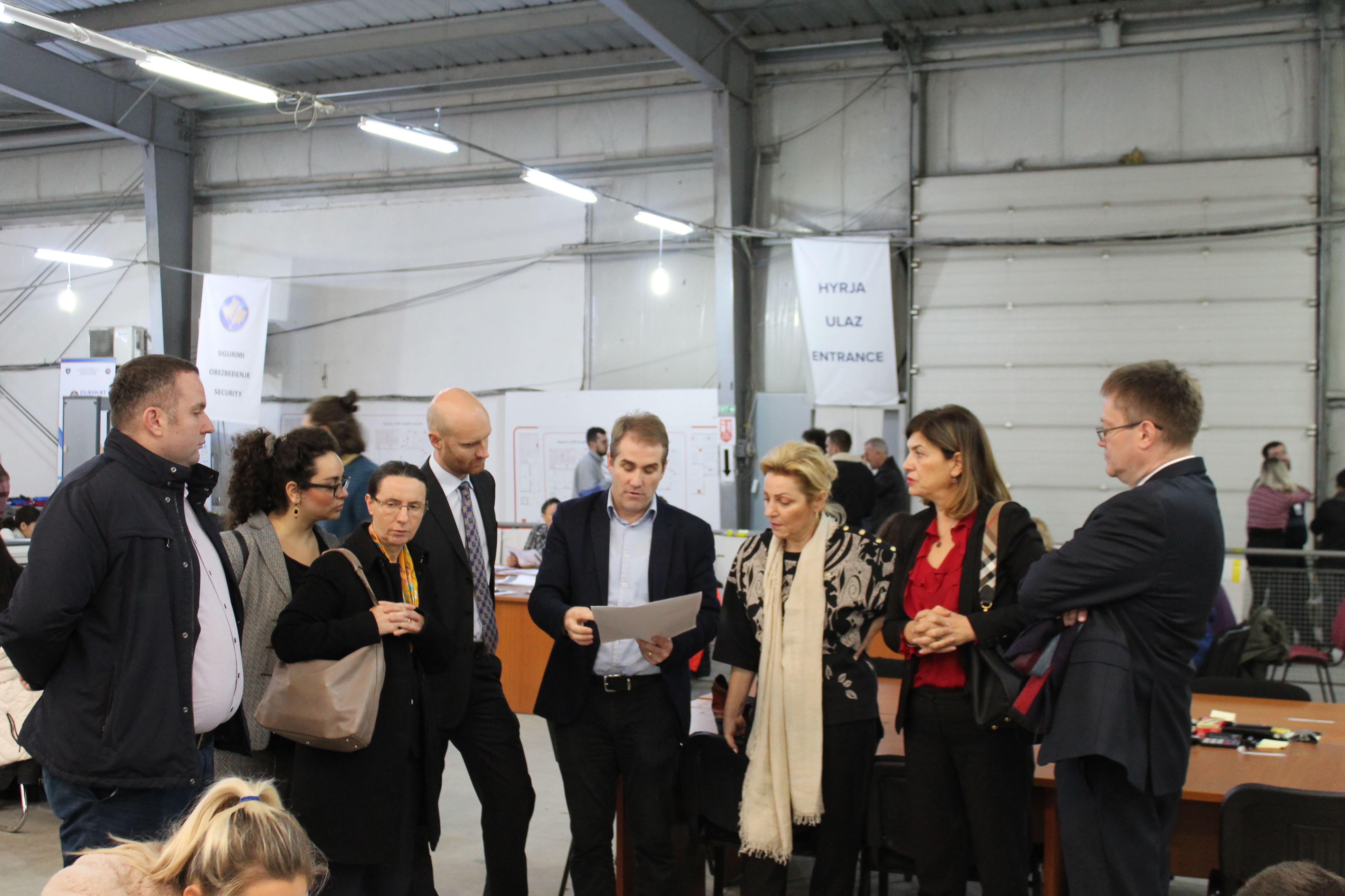 President of the CEC Valdete Daka, invited in CRC ambassadors and representatives of various international organisations