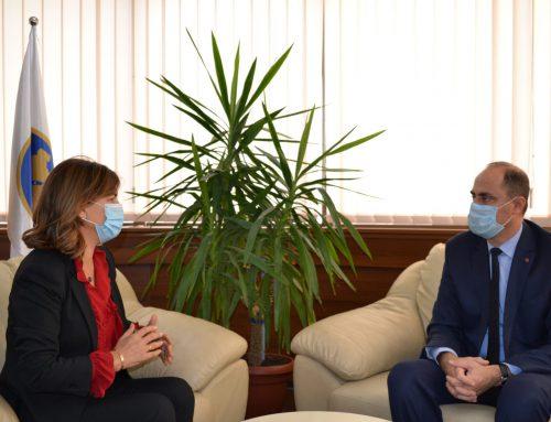 Predsednica CIK-a primila je danas na sastanku v. d. Generalnog direktora Policije Kosova