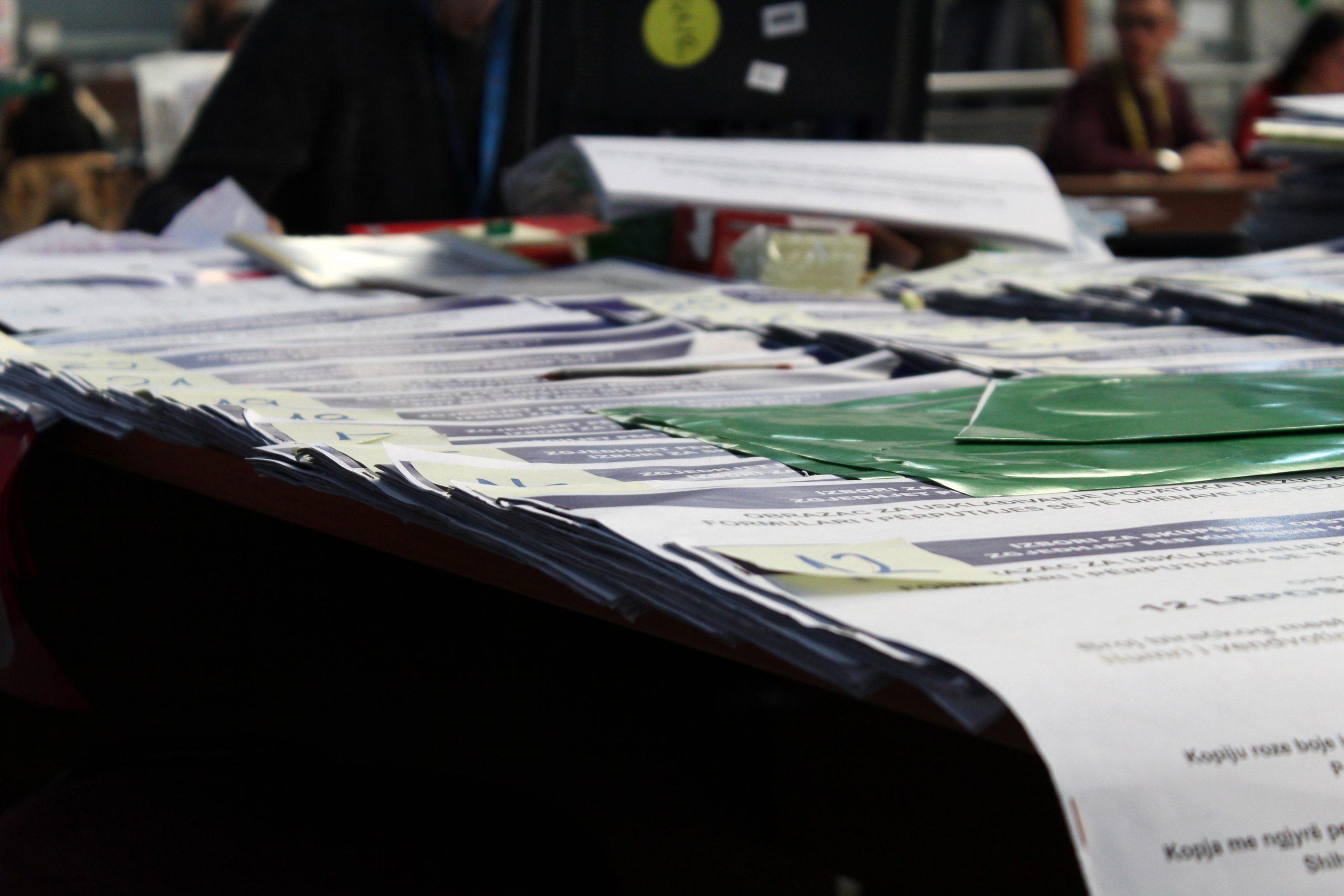 Formularët e Rezultateve për Zgjedhjet e Parakohshme për Kuvendin e Kosovës 2021