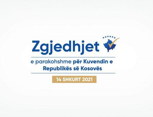 KQZ-ja certifikoi rezultatet përfundimtare të zgjedhjeve të parakohshme për Kuvendin e Kosovës të 14 shkurtit 2021